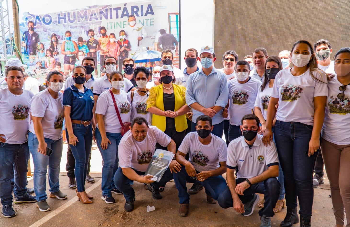 Carreta Ambiental realiza atendimentos em Plácido de Castro e segue para o Alto Acre