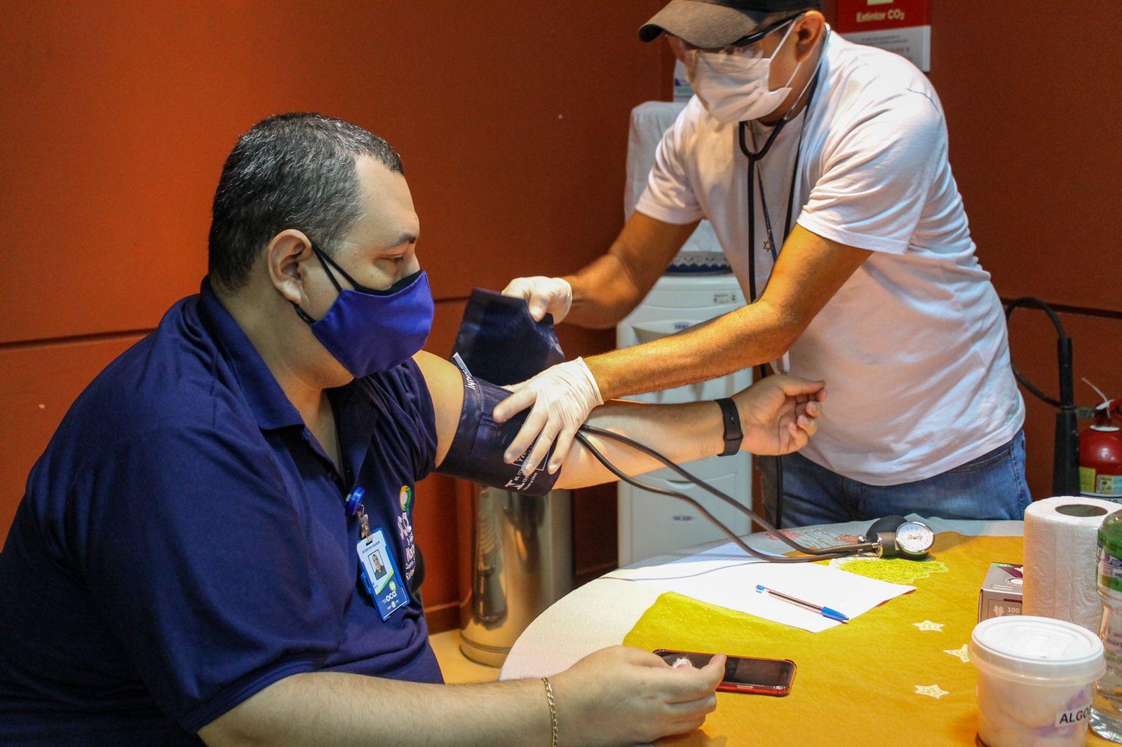 Servidores da OCA recebem atendimentos de saúde