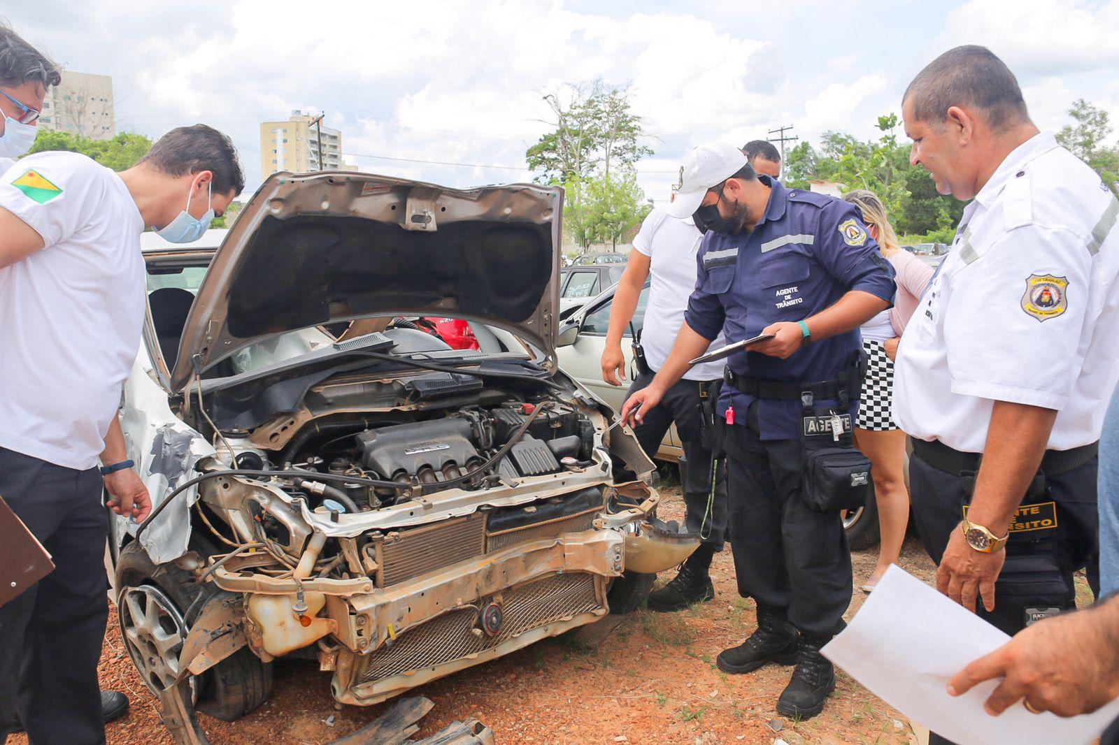 Detran realiza curso de capacitação para agentes de trânsito